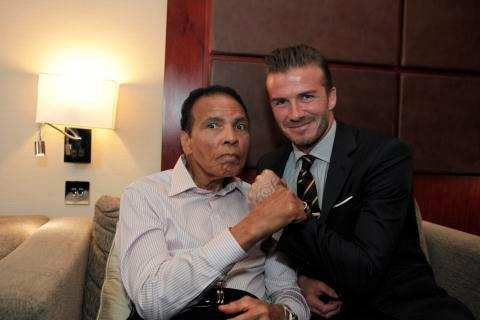 Photo : Beckham a rencontré Ali