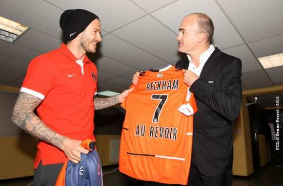 Photo : Beckham le Lorientais