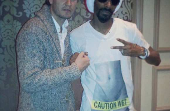 Photo : Bendtner et Snoop Dogg