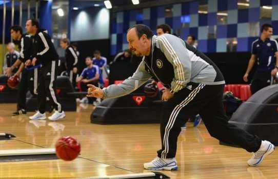 Photo : Benitez au bowling !