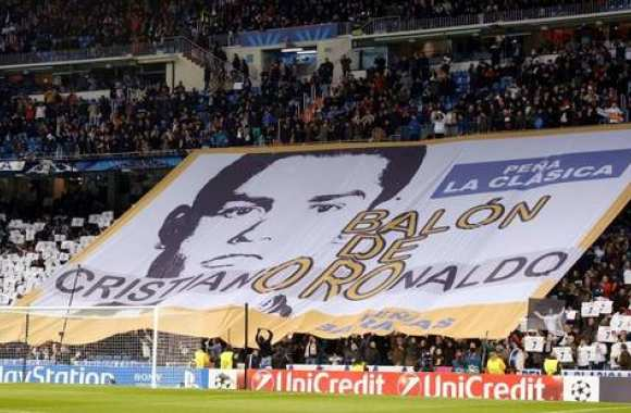 Photo : Bernabeu vote Ronaldo