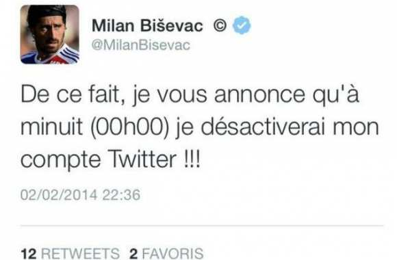 Photo : Bisevac n'aime pas la critique