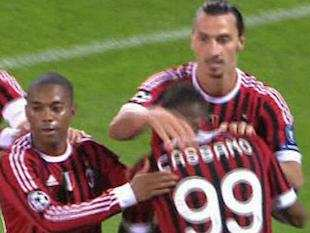Photo : Boateng pense à Cassano