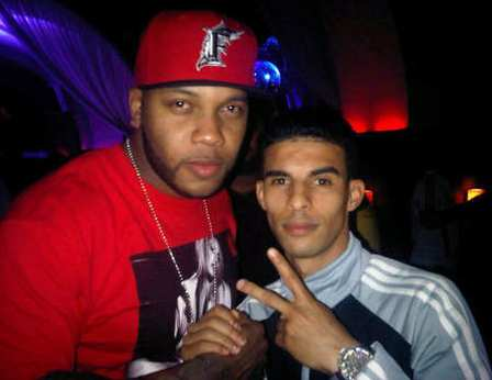 Photo : Boussoufa et Flo Rida