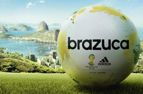 Photo : Brazuca, ballon du prochain Mondial