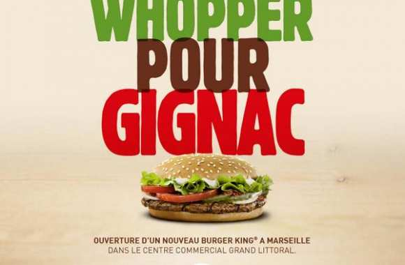 Photo : Burger King se paye Gignac