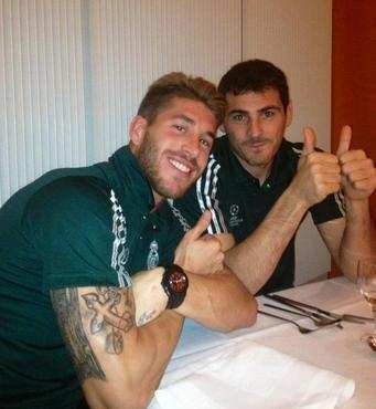 Photo : Casillas vote Ramos