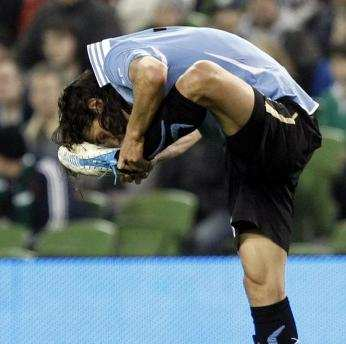 Photo : Cavani est souple