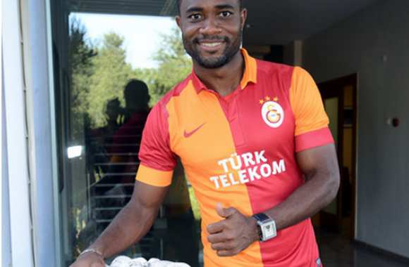 Photo : Chedjou à Galatasaray