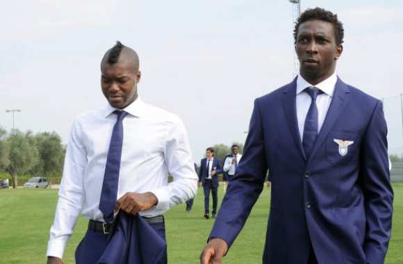 Photo : Cissé et Diakité en costard