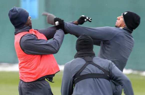 Photo : clash Balotelli-Boateng