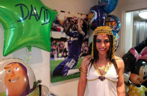 Photo : Cléopâtre à l'anniversaire de David Luiz