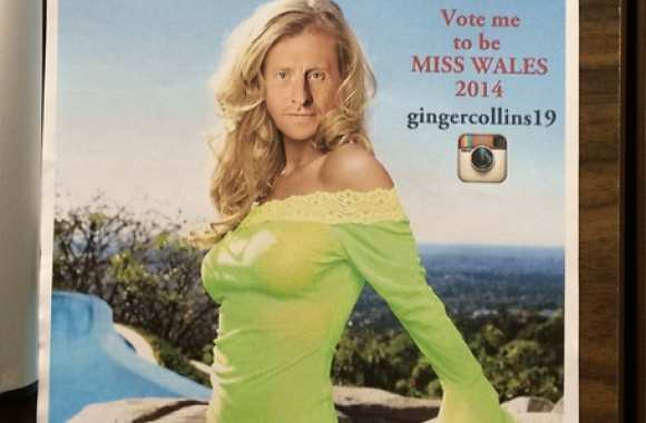 Photo : Collins, miss pays de Galles ?