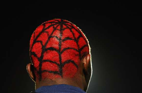 Photo: coupe Spiderman