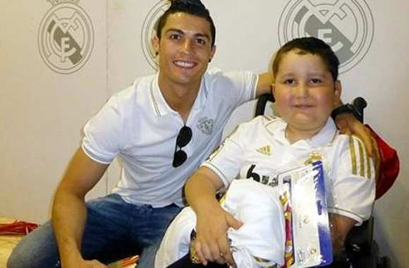 Photo : Cristiano grand seigneur