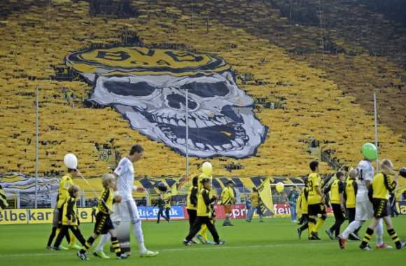 Photo: dans l'enfer de Dortmund