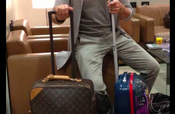 Photo : Del Piero à l'aéroport