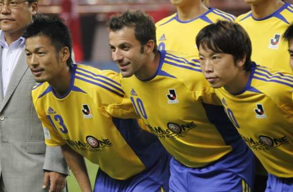 Photo : Del Piero au Japon
