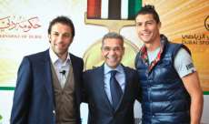 Photo : Del Piero et CR7