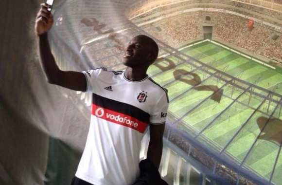 Photo : Demba Ba à Besiktas