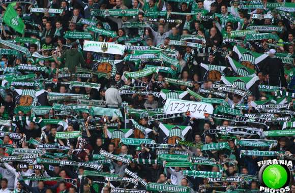 Photo : Des supporters bien matheux