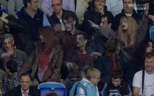 Photo: des zombies à l'Olimpico