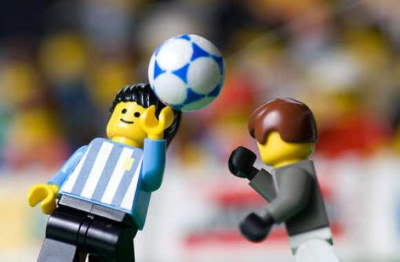 Photo : Diego en Lego