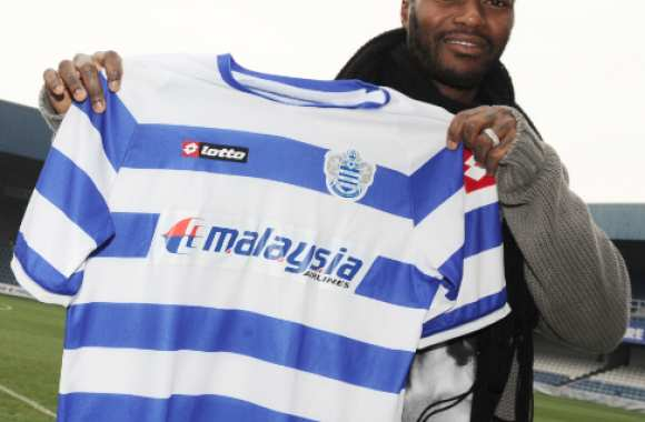 Photo : Djibril Cissé à QPR