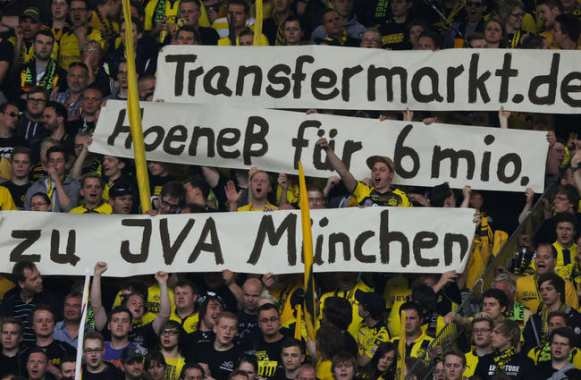 Photo : Dortmund taquine Hoeness