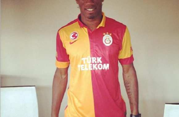 Photo: Drogba à Galatasaray