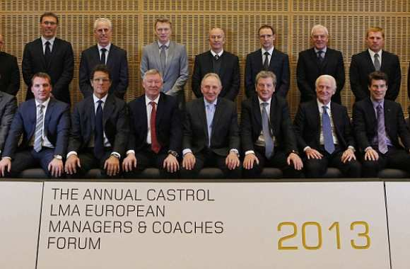 Photo: Du beau monde au forum des coachs
