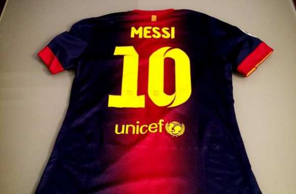 Photo: El Shaarawy et le maillot de Messi