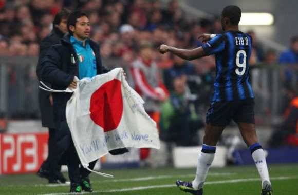 Photo : Eto'o pour le Japon