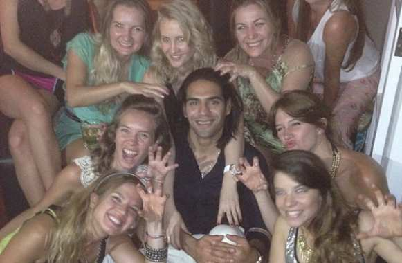 Photo: Falcao le Tigre coquin