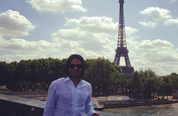 Photo : Falcao, loveur à Paris