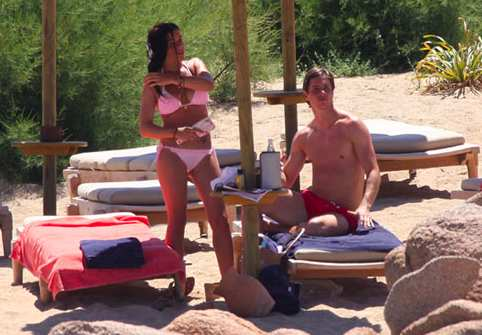 Photo : Fernando Torres en vacances