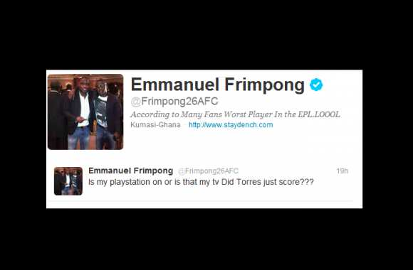 Photo : Frimpong chambre Torres