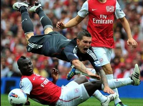 Photo : Frimpong déboite Agger