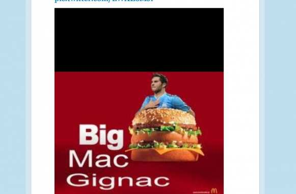 Photo : Gignac a le sens de l'humour
