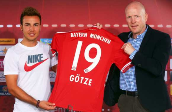 Photo : Götze énerve Adidas