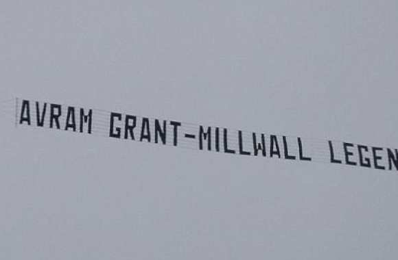 Photo: Grant, légende de Millwall