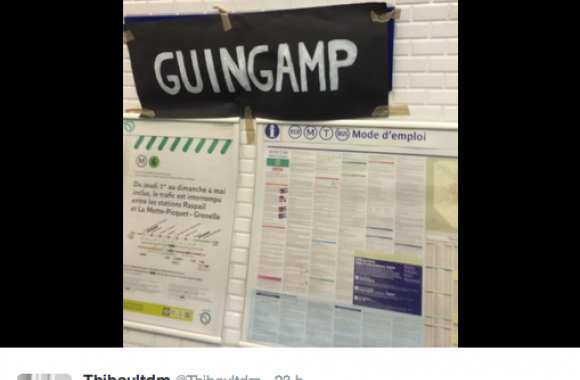 Photo : Guingamp customise le métro