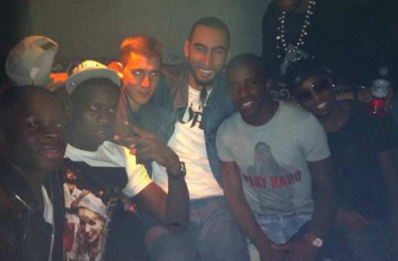 Photo: Hazard, Mavuba & La Fouine