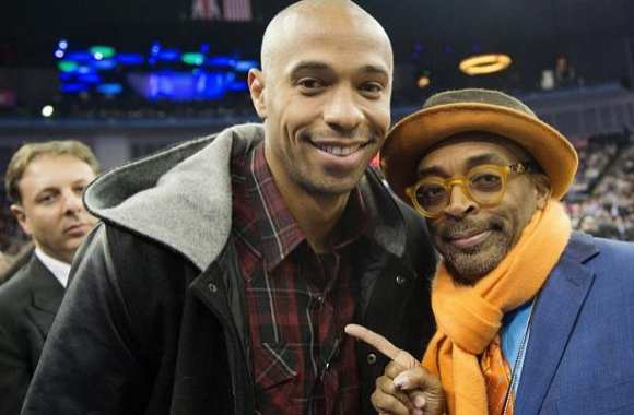 Photo: Henry et son pote Spike Lee