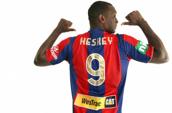 Photo : Heskey aux Newcastle Jets