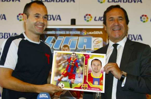 Photo : Iniesta comme Mark Landers