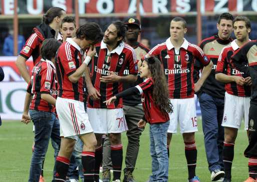 Photo : Inzaghi pleure