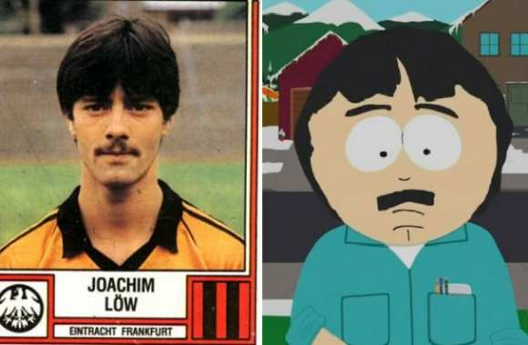 Photo : Joachim Löw = Randy Marsh