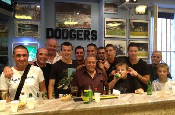 Photo: Joey Barton chez les Dodgers