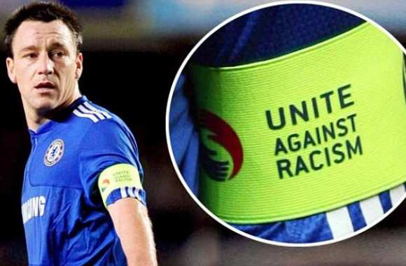 Photo : John Terry contre le racisme